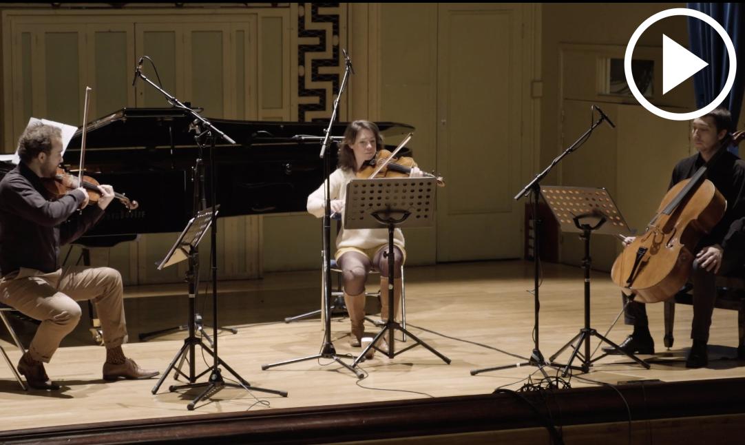 Alex Nante - Ocho escenas pour quatuor avec piano Création Mondiale (extraits)